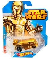 HOT WHEELS STAR WARS Character Car, C-3PO