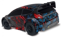 Traxxas Ford Fiesta ST Rally 1/10 4WD RTR TQ