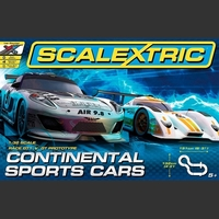 Scalextric 1:32 Continental Sports Cars