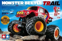 TAMIYA 1:14 R/C MONSTER BEETLE TRAIL (GF-01TR) 58672