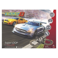 Scalex43 Super Loop Thriller-s Scalextric Racerbane F1001