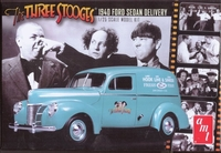 1940 Ford Sedan Delivery Van The Three Stooges plast byggsats AMT