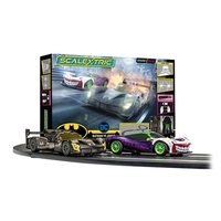 SCALEXTRIC C1415 SPARK PLUG - BATMAN VS JOKER RACE SET  Bilbana