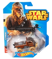 STAR WARS CHARACTER CHEWBACCA CHEWY VEHICLE CAR CGW39 HOT WHEELS