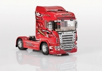 SCANIA R560 H-LINE RED GRIFFIN BYGGSATS
