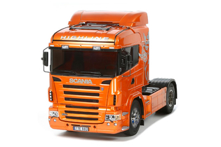 Tamiya RC Scania R470 Highline - Orange Edition
