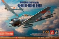 Tamiya 1/72 A6M2B ZERO W/8 MARKINGS