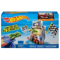 Hot Wheels Bilbana Triple Target Takedown™ Track Set