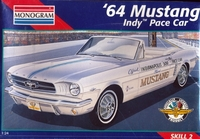 1964 Ford Mustang Convertible Indy Pace Car plastbyggsats