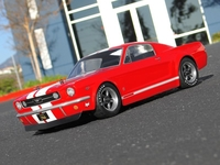 HPI #17519 - 1966 Ford Mustang GT Body (200mm)