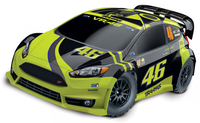 Traxxas Ford Fiesta ST VR46 Rally 1/10 4WD RTR TQ