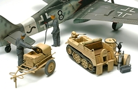 Tamiya 1/48 GERMAN KETTENKRAFTRAD W/Aircraft Power Supply