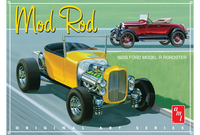1929 Ford Model A Roadster Plastbyggsats AMT1000
