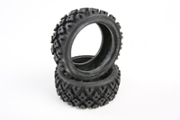 Tamiya Rally Block Tire Set - 2pc