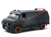 1983 GMC Vandura Weathered Version with Bullet Holes *The A-Team 1983-87 TV Series*, grey/black