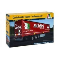 1/24 Curtainside Trailer Byggsats