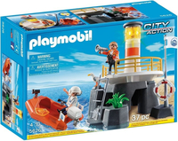 City Action - Lighthouse with Rescue Craft