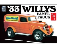 1933 Willys Panel Truck Plast Byggsats AMT