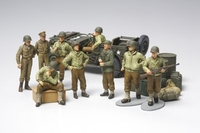 Tamiya 1/48 WWII US INFANTRY AT REST