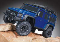 Traxxas TRX-4 Scale & Trial Crawler Land Rover Defender Blå RTR