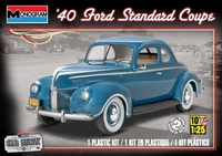 1940 Ford Standard Coupe plast byggsats Monogram