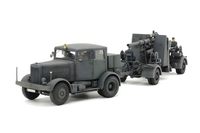Tamiya 1/48 GERMAN HEAVY TRACTOR SS-100 & 88MM GUN FLAK37
