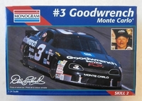 #3 DALE EARNHARDT GOODWRENCH MONTE CARLO Plastbyggsats Monogram