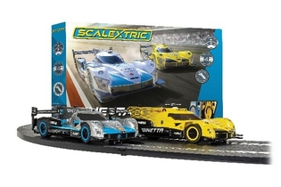 SCALEXTRIC GINETTA RACERS SET C1412M