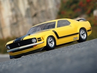 HPI #17546 - 1970 Ford Mustang Boss 302 Body (200mm)
