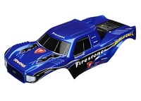 Traxxas Kaross Bigfoot Firestone Replica Målad