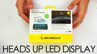 Heads Up LED Display